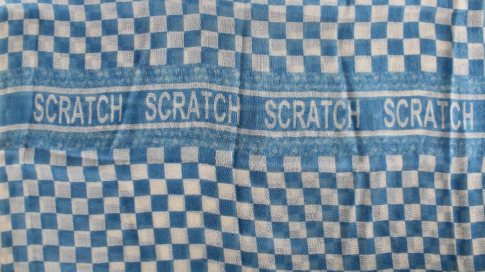 light blue racing scarf