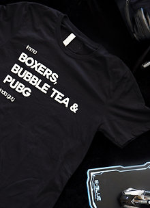 Boxers and PUBG Tee