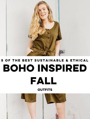 Boho Inspired Fall Outfits