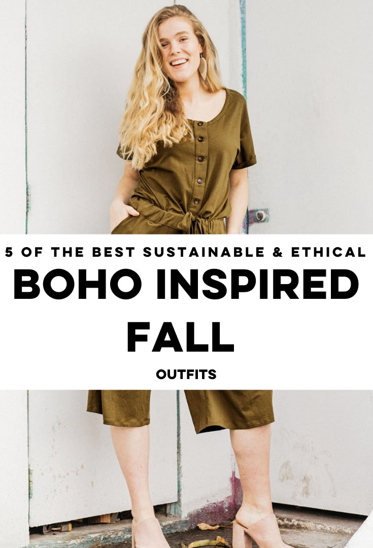 Boho Inspired Fall Outfits