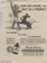 Coppertone sunscreen add circa 1955