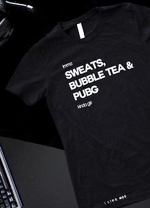 Sweats and PUBG Tee