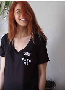 Feed Me Relaxed Pocket Tee