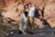 Two boho millennials in the desert - Red Rock Canyon, Las Vegas, Nevada - Photo by Jenny Blades Photography