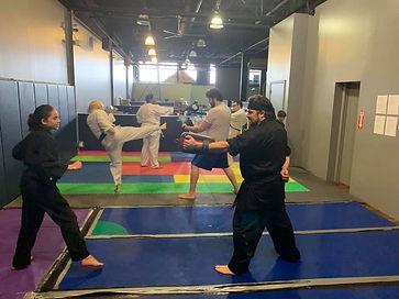 Taekwondo Kicking Drill