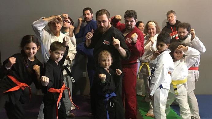 Koval Taekwondo Class Photo
