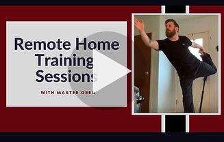 Youtube Taekwondo Remote Training sessions