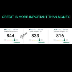 Credit is More Important than Money