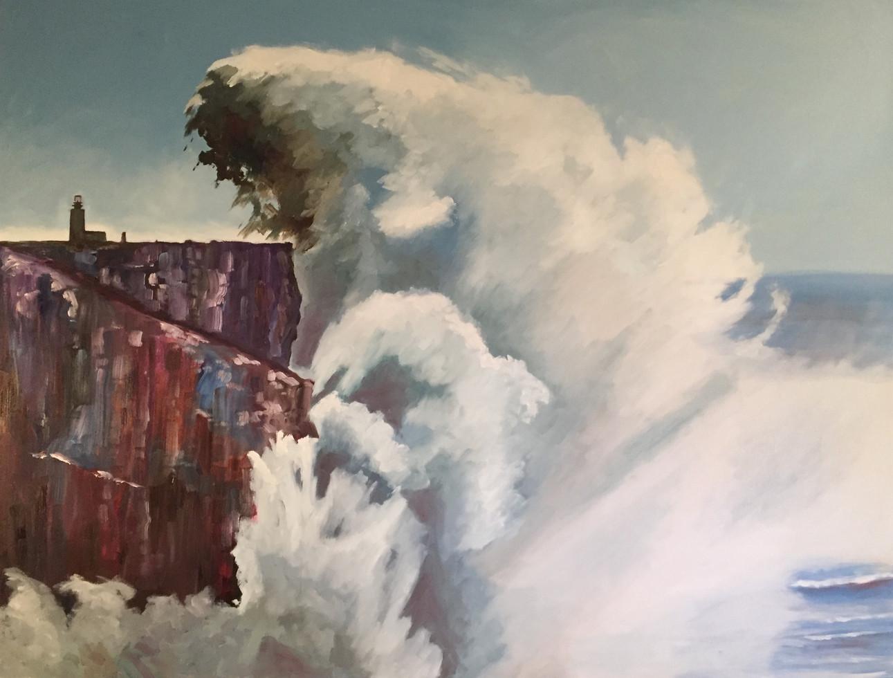 Stormy Seas at Sagres