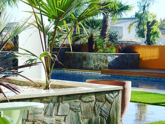 Colourful Pool Terraces