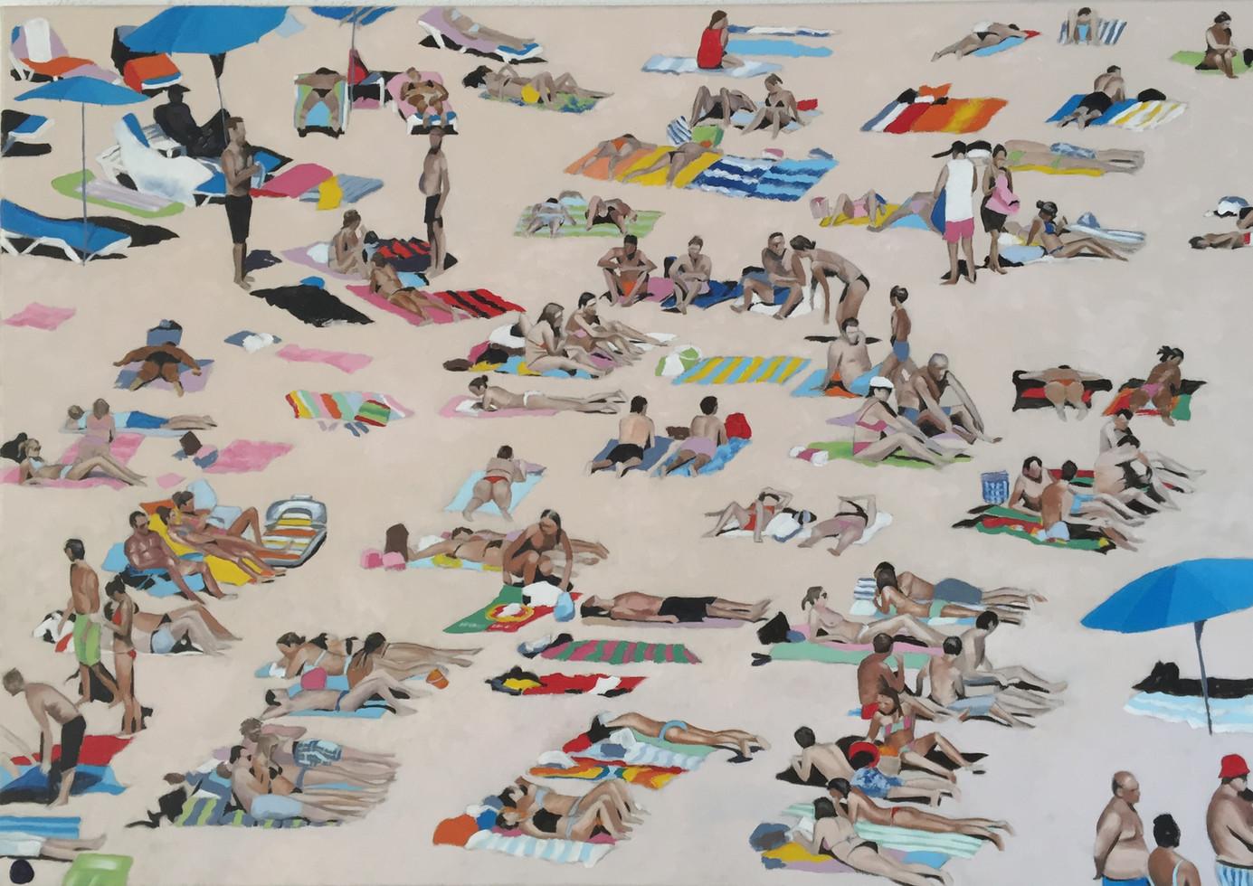 Sunbathers on the Algarve 2