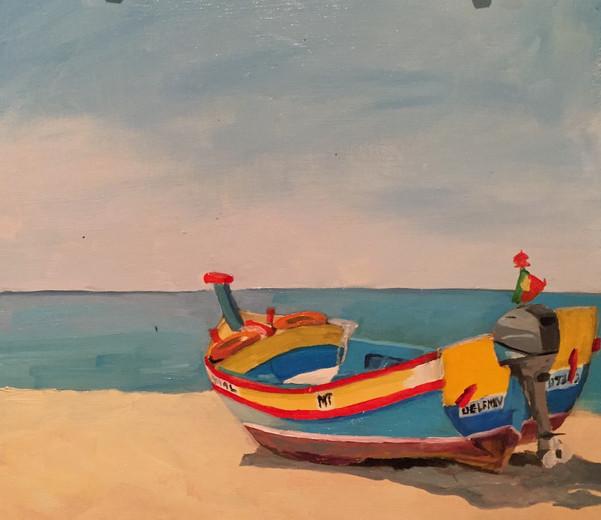 Armacao de Pera Fishing Boat