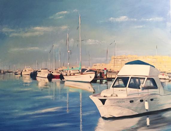 Early Morning Vilamoura Marina