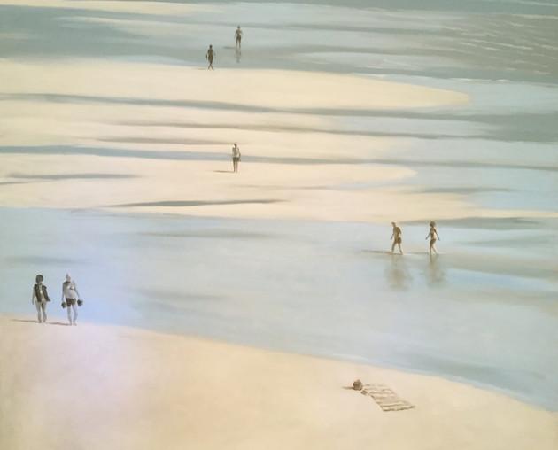 Socially Distanced Beach Walks - SOLD