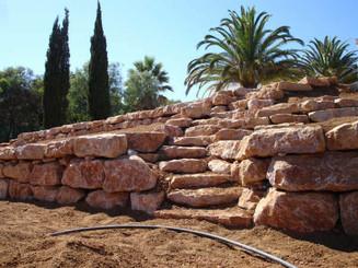 Natural Stone Terracing