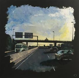 Sunrise on A22