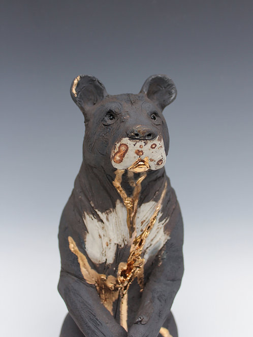 Kabir, Asiatic Black Bear, Bleeding For Gold