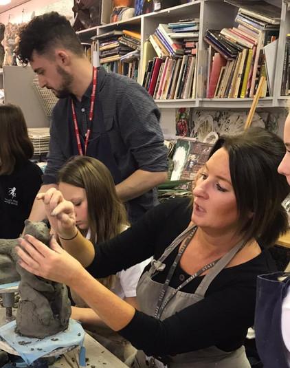 Jack Durling, Alison Collins,Valley Park School Workshop