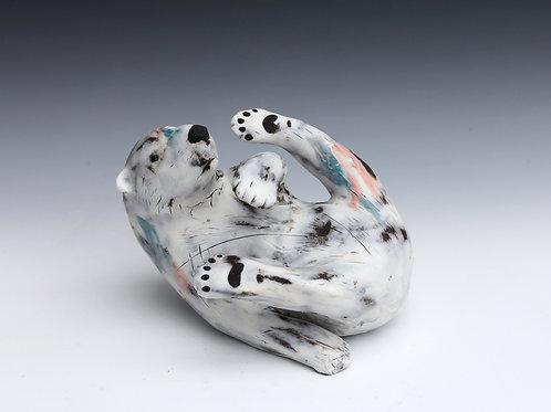 Chena, Polar Bear Cub, Adrift