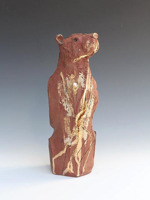 Cheng, Asiatic Black Bear, Bleeding For Gold.