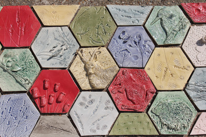British Wildlife Tiled Mural