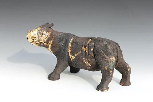 Satri, Sumatran Rhino, Bleeding For Gold