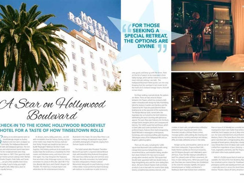 Where to stay when you're in Hollywood, California
