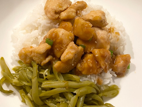 My recipe for Honey Garlic Chicken, plus everything I cooked this past week