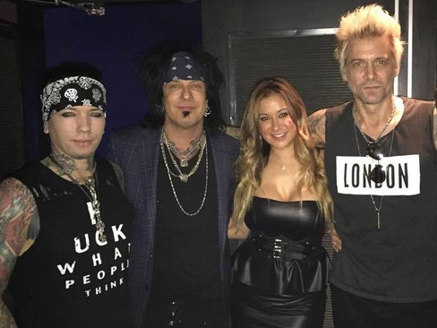 Sixx:A.M. at Best Buy Theater