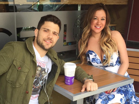 Chatting with our June/July cover guy... Jerry Ferrara