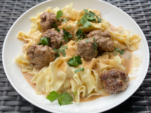 What's for Dinner? Swedish meatballs and chicken