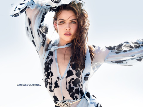 Danielle Campbell covers December/January 2019 cover of ML