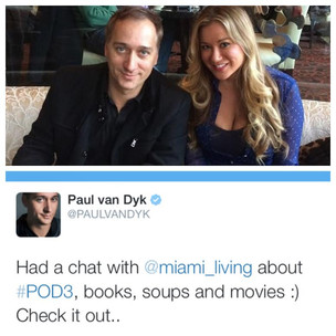 Catching up with Paul van Dyk