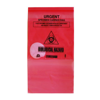 Biohazard Confirmation Bags - Pack of 10