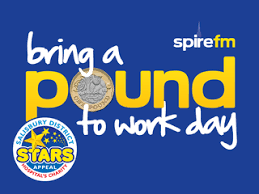 Bring a Pound to Work - or more if you like!