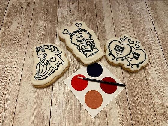 PYO Valentine Cookies
