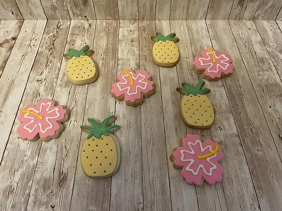 Hibiscus/Pineapples