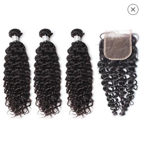 Brazilian Deep curly Bundle Deal