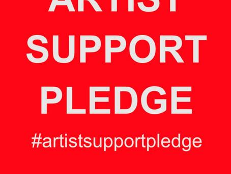 My Studio | #artistsupportpledge
