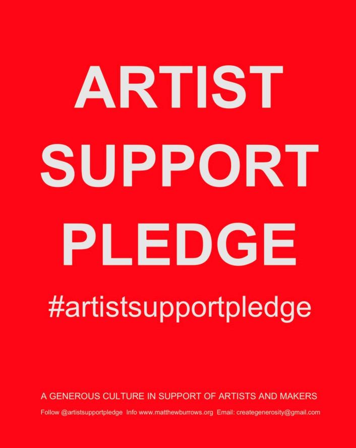 Art Support Pledge