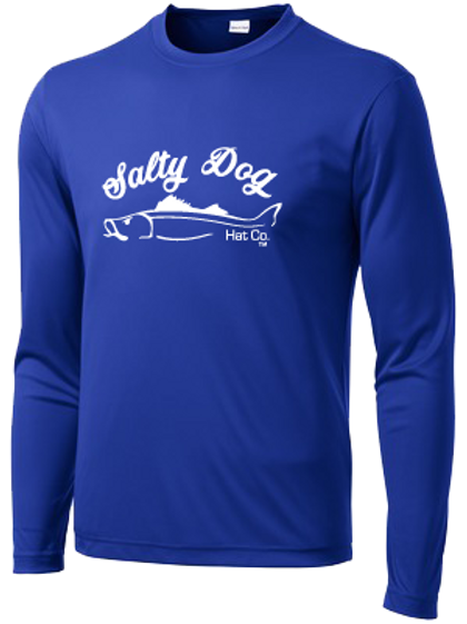 Snook - Navy Long Sleeve Activewear
