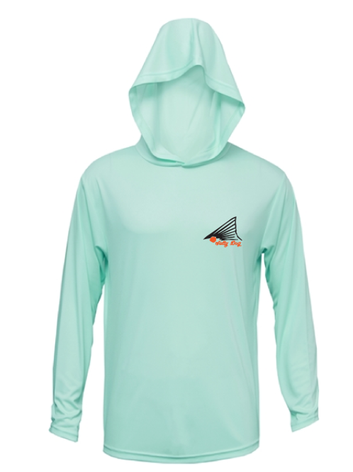 Sea Foam Hooded