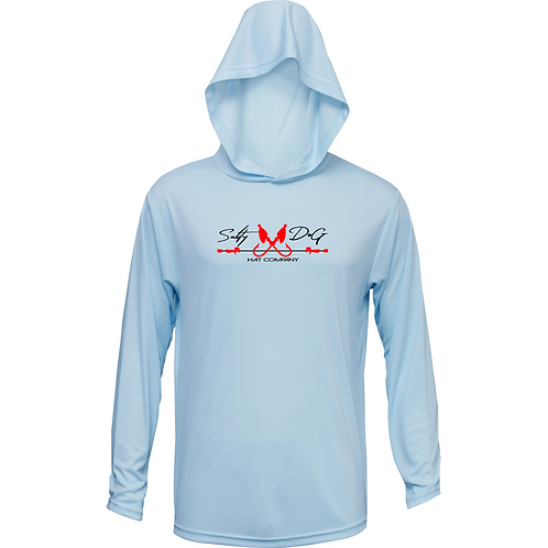 Ice Blue Hooded