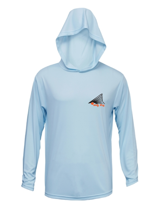 Blue Ice Hooded