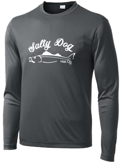 Snook - Charcoal Long Sleeve Activewear