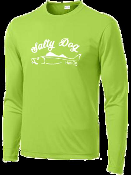 Snook - Neon Green Long Sleeve Activewear