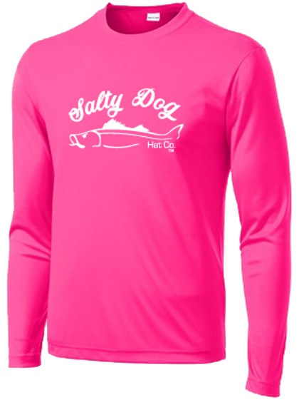 Snook - Neon Pink Long Sleeve Activewear