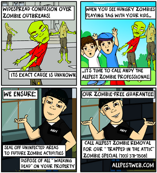 Massachusetts and New Hampshire Zombie Removal