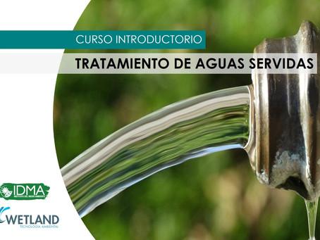 Se prepara nueva versión del Curso de Tratamiento de Aguas Servidas