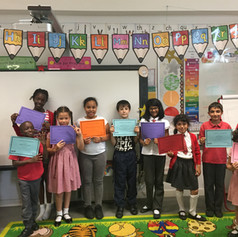 SHOWING OFF THEIR CERTIFICATES